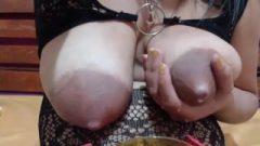 Racy Webcam Girls 373 ( Saggy Milk Breasts 1/2)