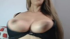 Lactating MILF With Huge Nipples