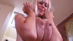 Anastasia Devine Racy Blonde Lactating