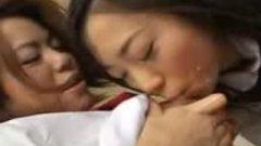 Thai School-Girl Lesbian Lactation
