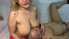 Kiss Step Mommy's Tits And Make Her Feel Good, Webcam Couple