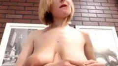 Amateur Massive Boobs Wife Show