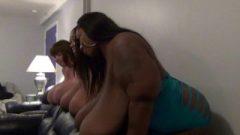 BBW Massive Breasts Felt Up And Massive Butts Bouncing