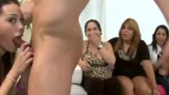 Filthy Mom Lactating On Dick At Party
