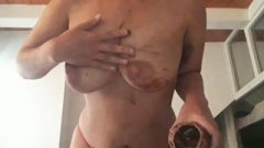 Mommy Lactating With Delicious Ebony Milk (full Natural Body)