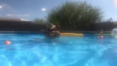 9 Months Pregnant Pool Intercourse Full