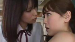 Nippon Lezbo Hardcore Tongue Kiss